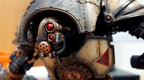 Forge World Knight Head
