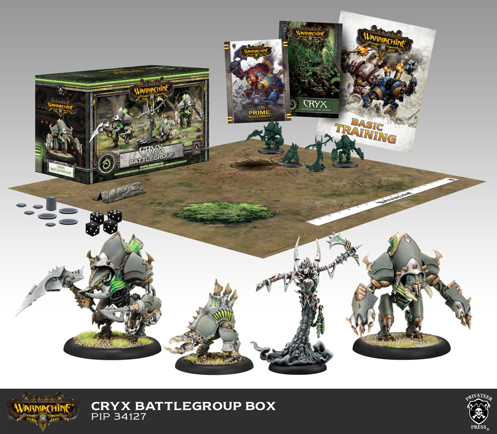 Bell of Lost Souls Give a Play 40k Cryx Starter Box