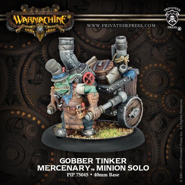 Bell of Lost Souls Workshop Gobber TInker Model