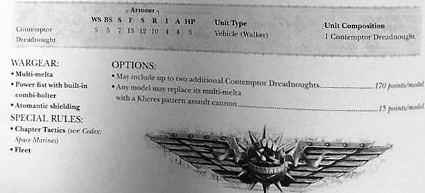 Contemptor Dread rules 1