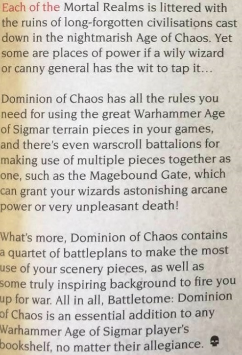 Dominion of Chaos 6