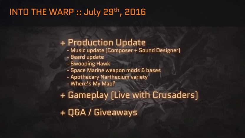 EC #73 Production update