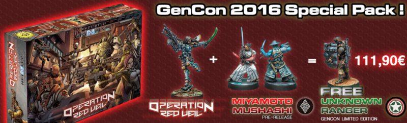 Infinity GenCon Pack