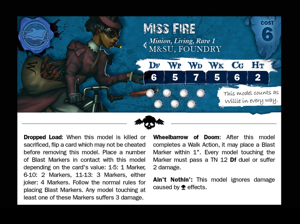 Miss Fire 2 card