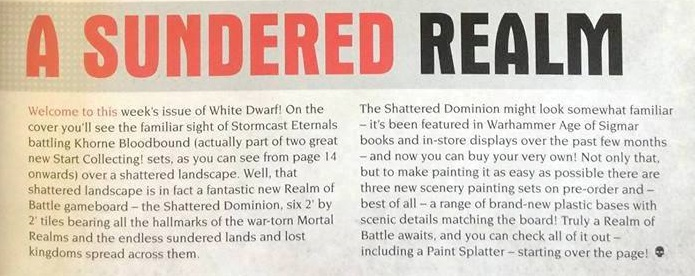Shattered Dominion text