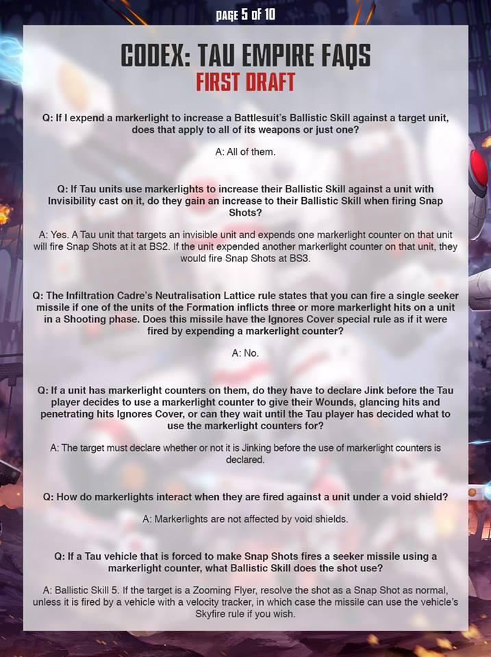 Tau FAQ 4