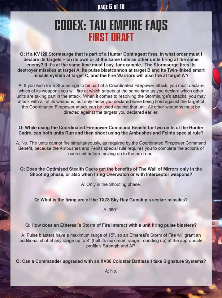 Tau FAQ 5