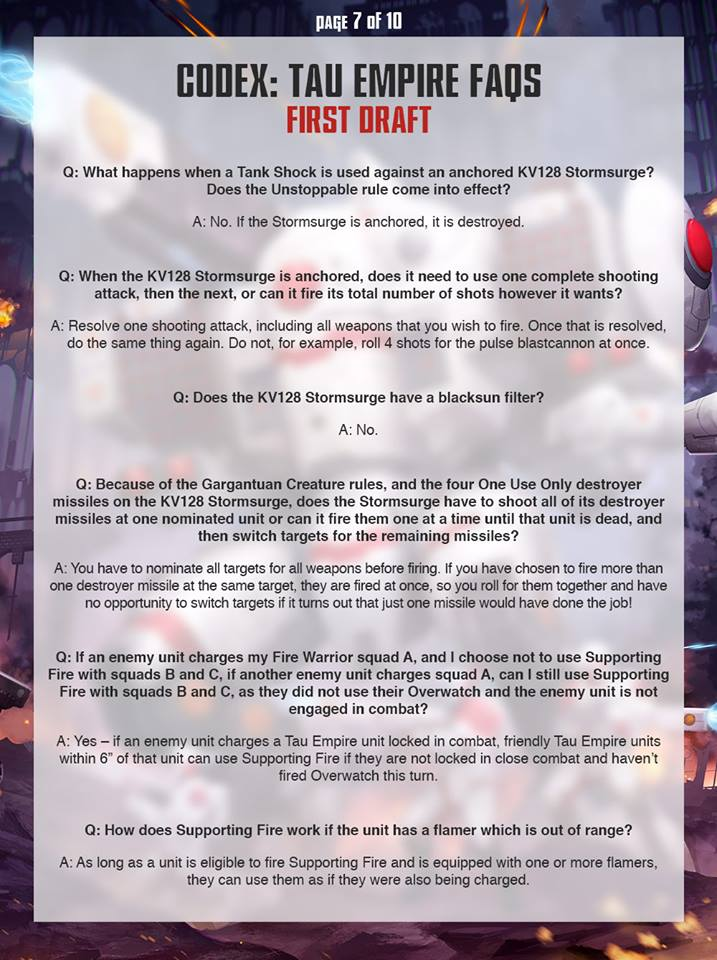 Tau FAQ 6