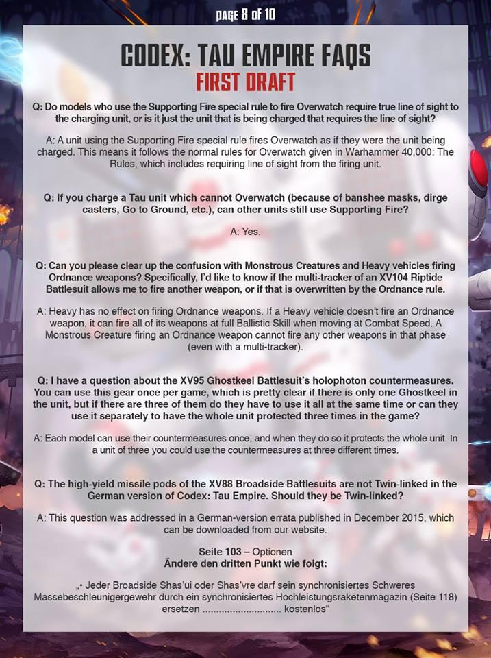 Tau FAQ 7