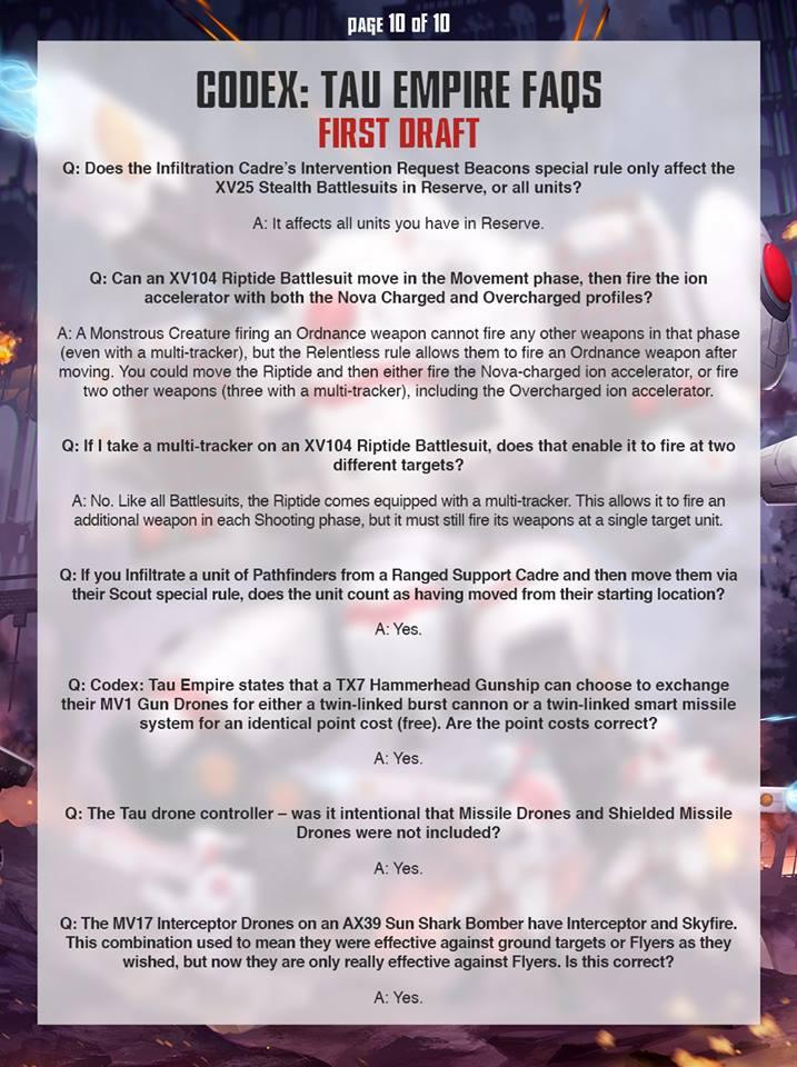 Tau FAQ 9