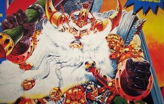 White Dwarf Mascot