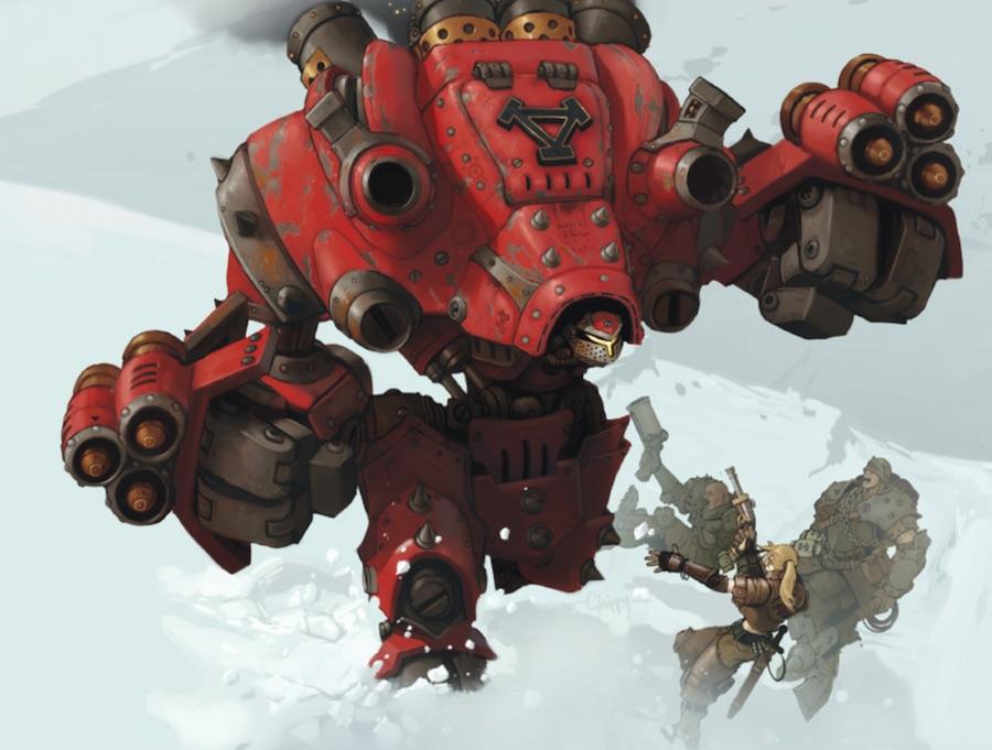 privateer khador behemoth
