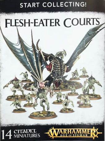 white Dwarf 130 start collecting flesh eater courts