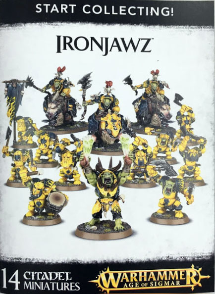 white Dwarf 130 start collecting ironjawz
