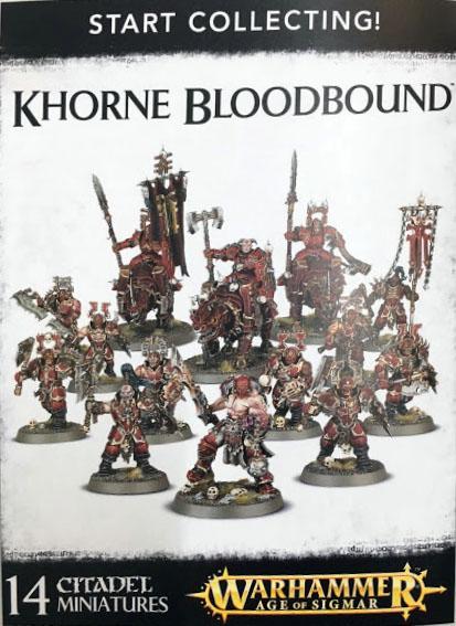 white Dwarf 130 start collecting khorne bloodbound