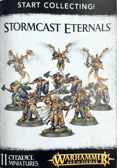 white Dwarf 130 start collecting stormcast eternals
