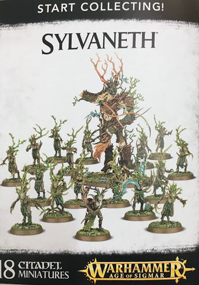 white Dwarf 130 start collecting sylvaneth