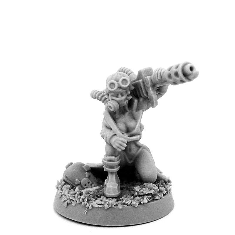 Sisters of Awesome - Must See 28mm Miniatures! - Bell of
