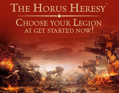 Forge world Horus Heresy Legion