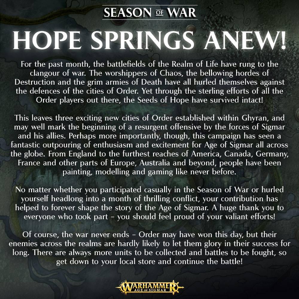 AoS Season of War Wrap-up