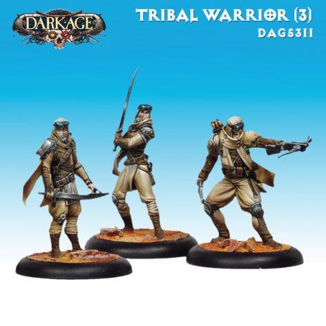 Dark Age Nomads Tribal Warrior