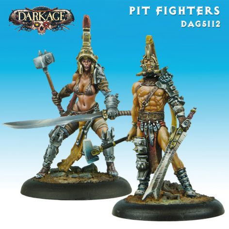 Dark Age Outcasts Pit Fighters