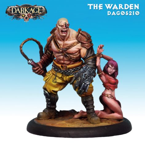 Dark Age Outcasts The Warden