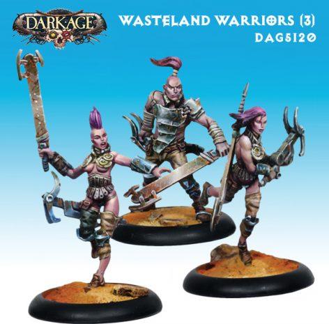 Dark Age Outcasts Wasteland Warriors