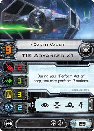 Darth Vader TIE Advanced