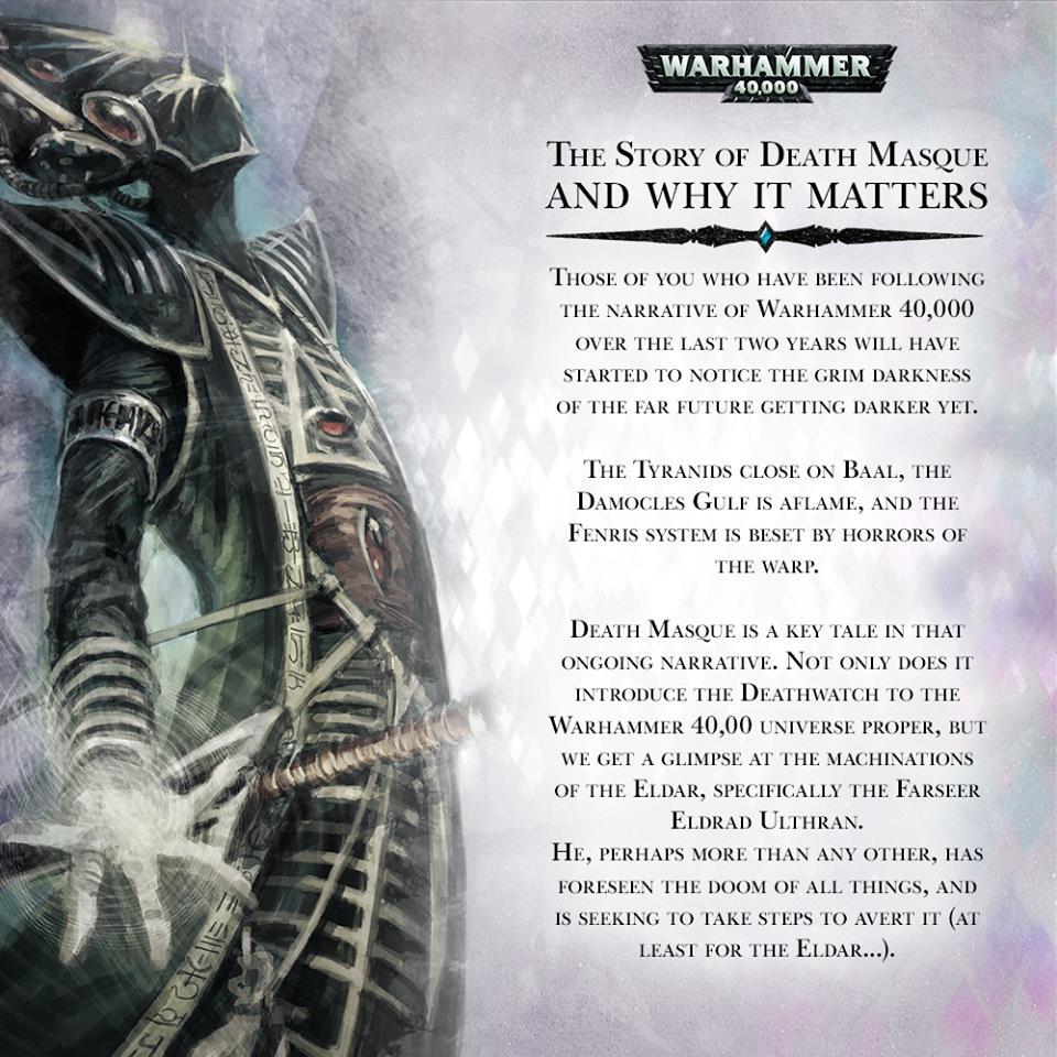Death masque teaser