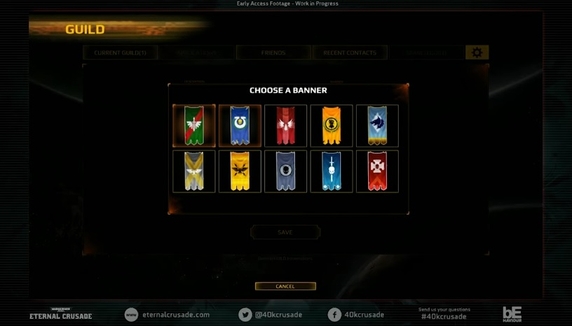 Eternal Crusade 75 Banners