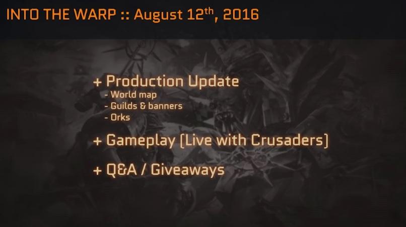 Eternal Crusade 75 Production Update