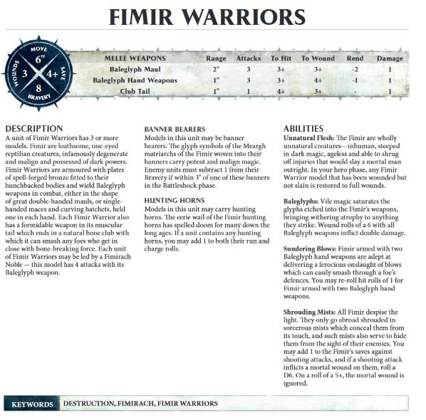 Fimir Warriors