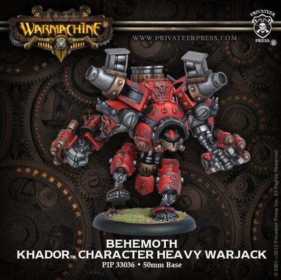 Khador Behemoth Metal
