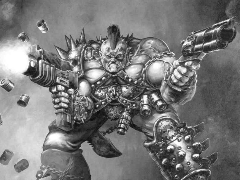 Necromunda Goliath Ganger