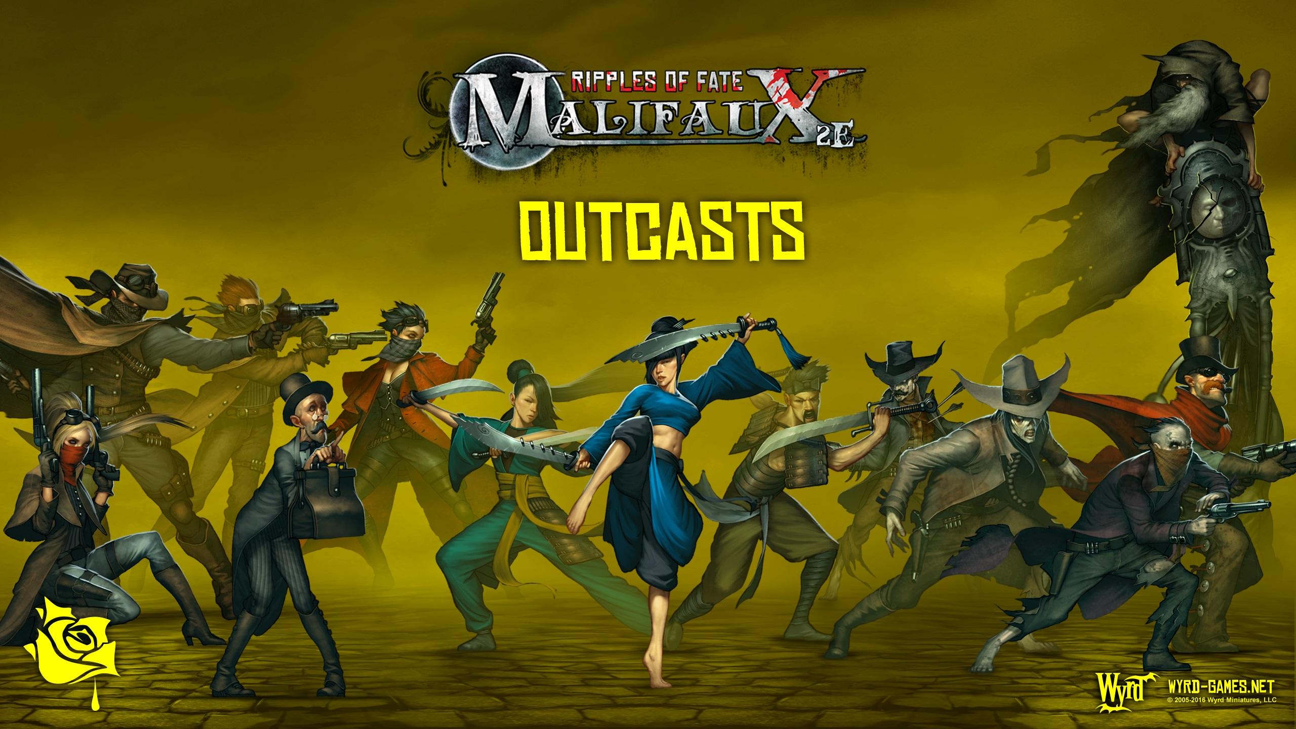 Outcasts Malifaux