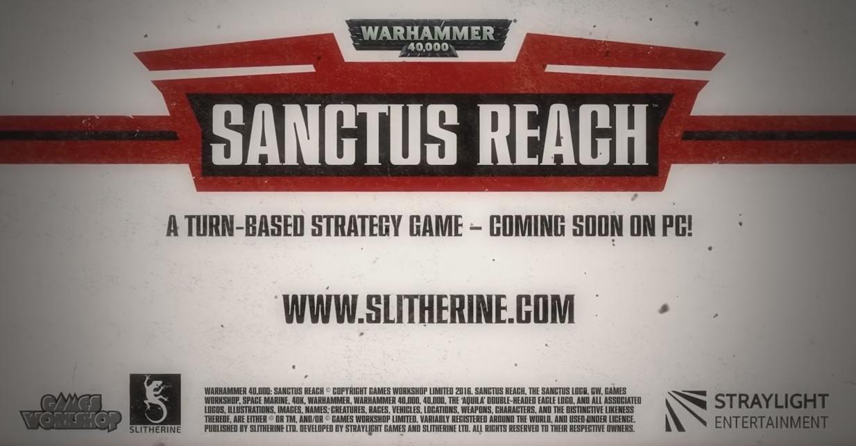 Sanctus Reach PC Game 40k