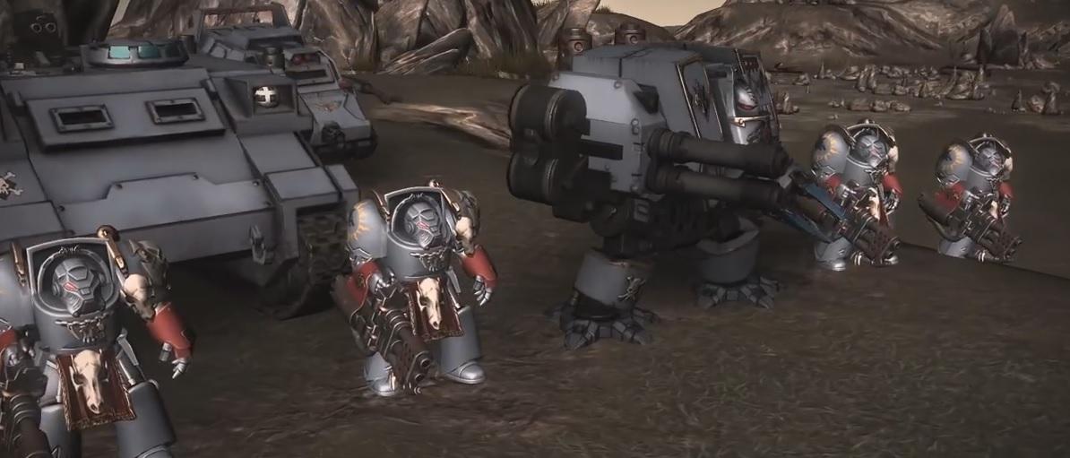 Sanctus Reach PC Game Space Wolves 3