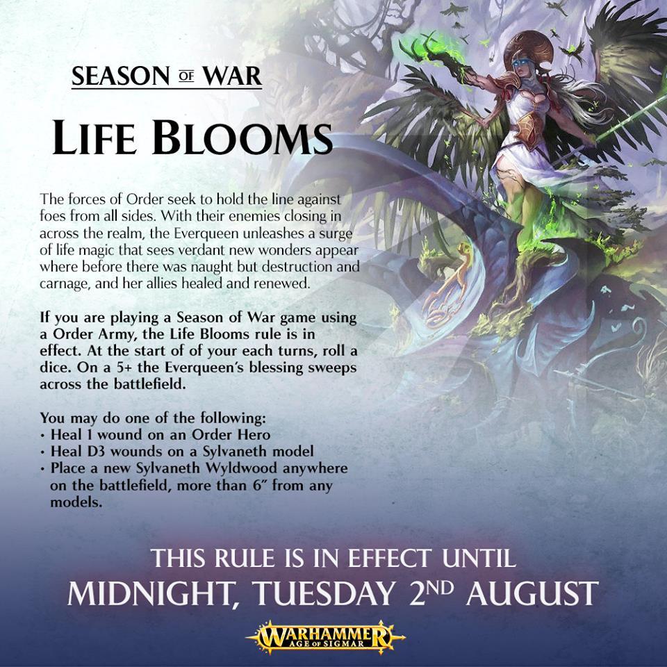 Season of war life blooms