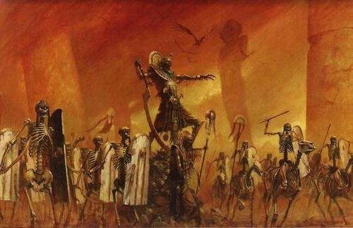 Tomb kings crop