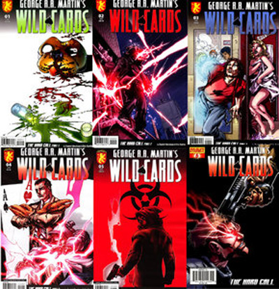 Wild-Cards graphic novels