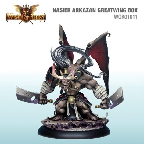 Wrath of kings nasier arkazan greatwing