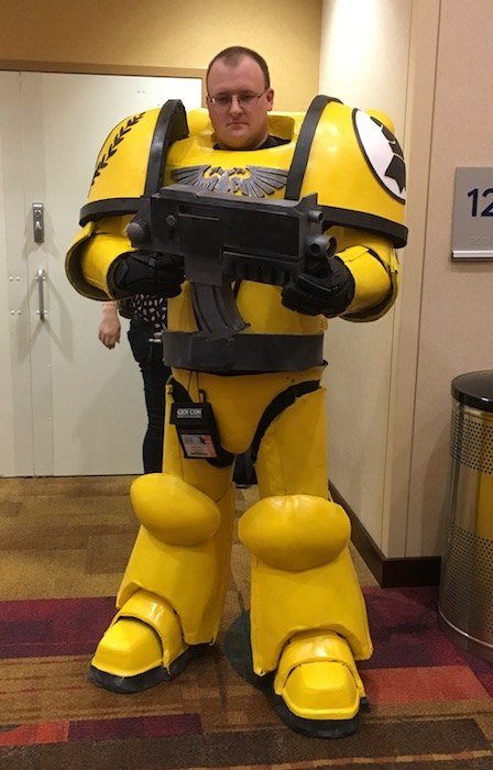 imperial fist cosplay gencon