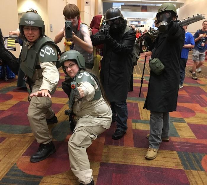imperial guard cosplay gencon