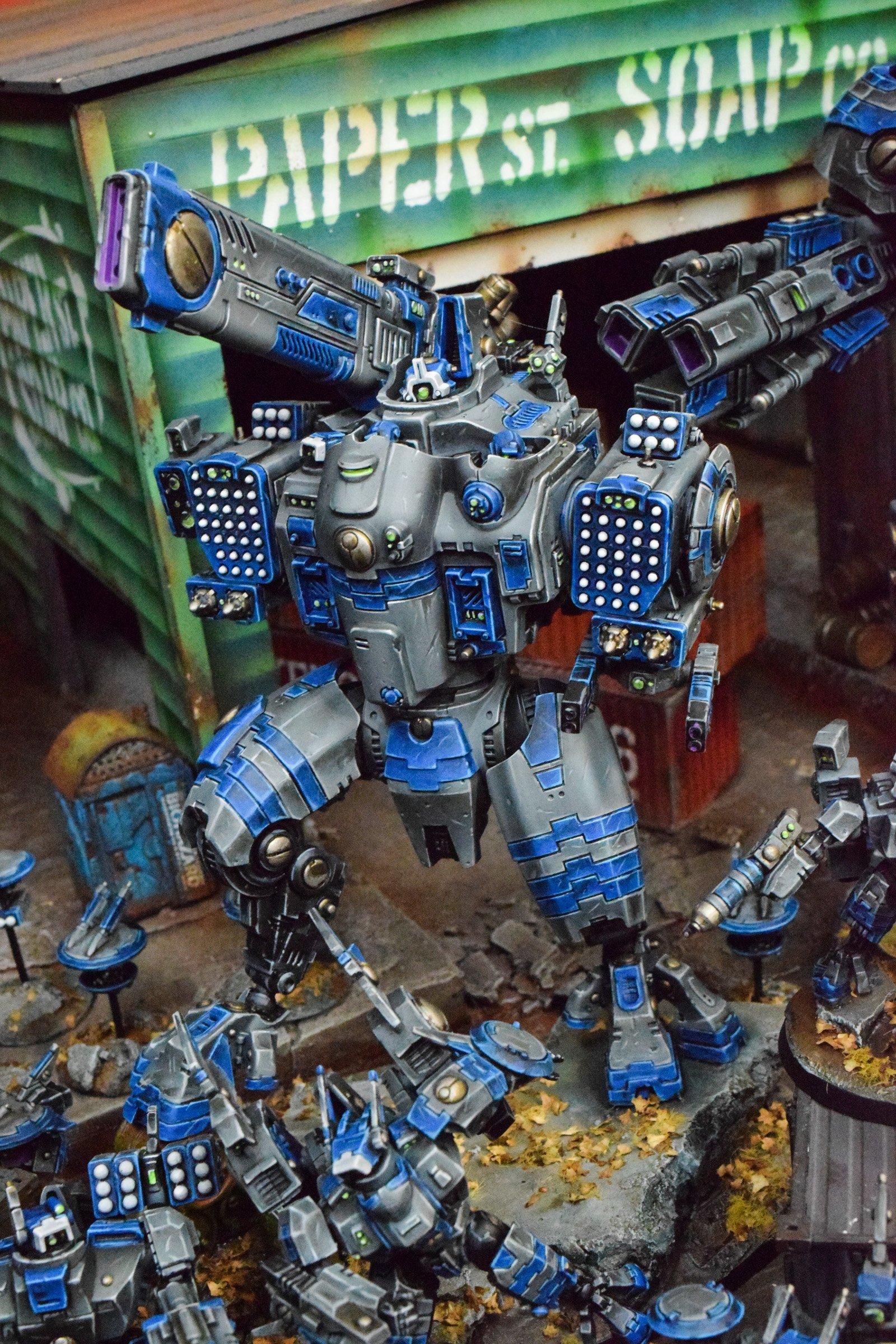 SHOWCASE: Tau Invasion - Big Guns, Big Armor - Bell of Lost
