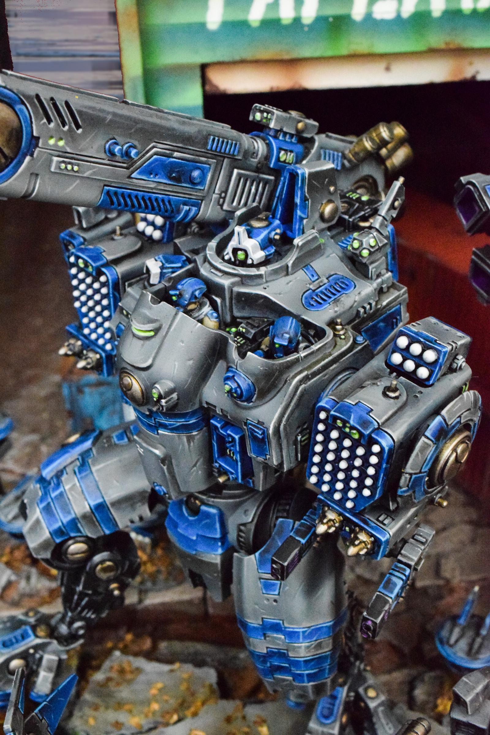 SHOWCASE: Tau Invasion - Big Guns, Big Armor - Bell of Lost Souls