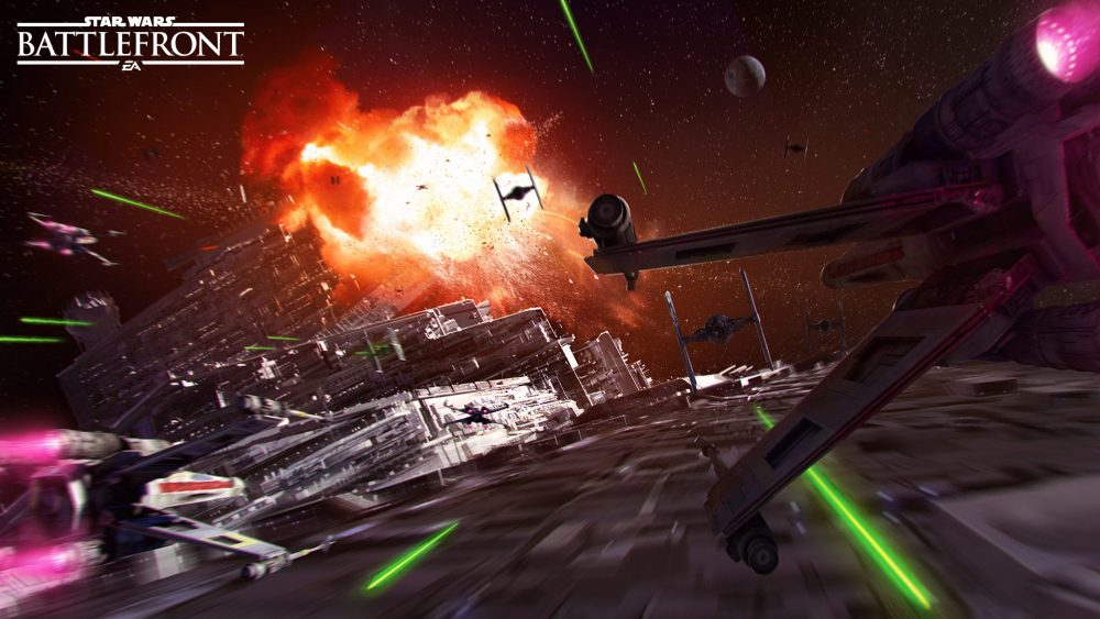 battlefront death star
