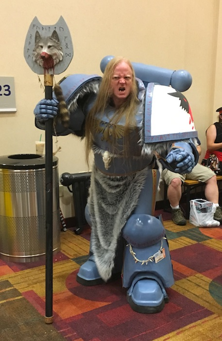space wolf cosplay gencon