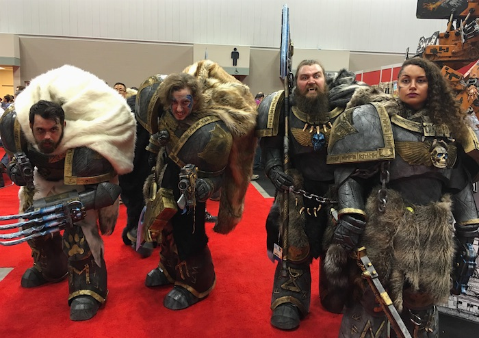 space wolves cosplay gencon