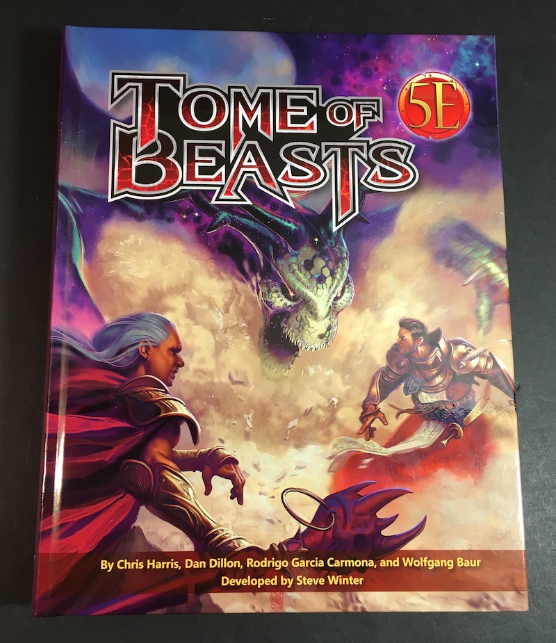 tome beasts cover